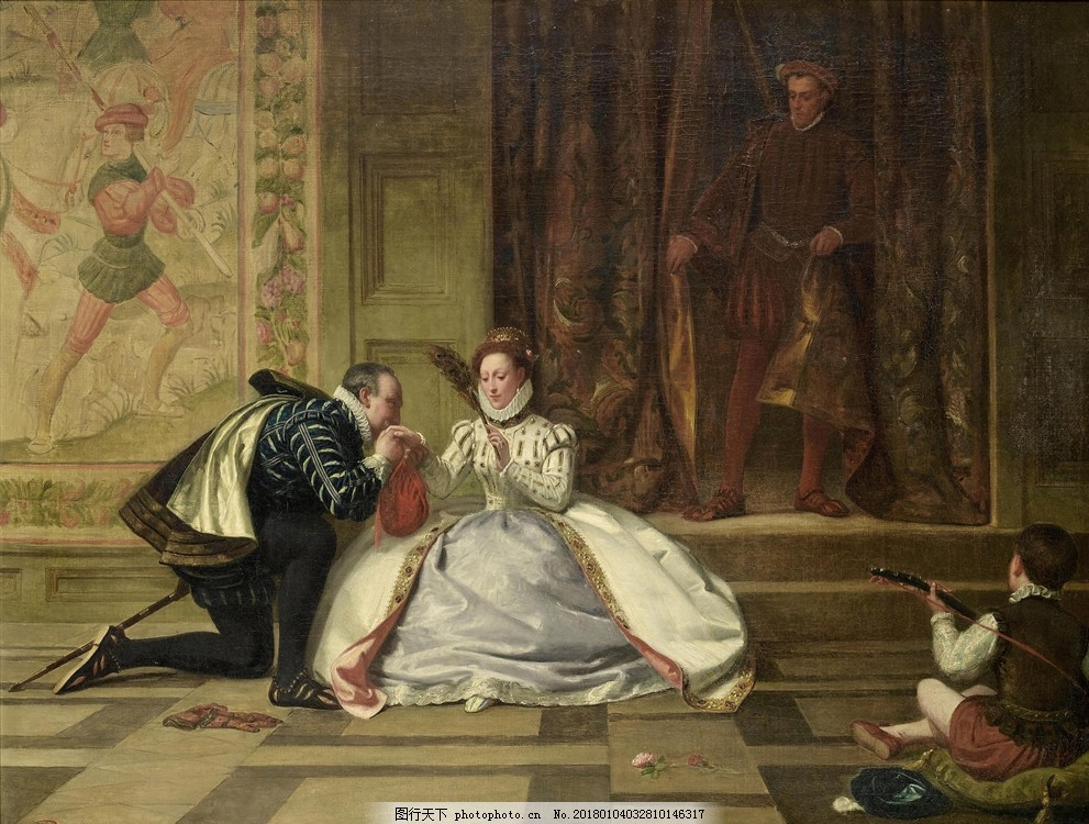 欧洲贵族油画 复古油画 人物油画 抽象油画 手绘风景油画 现代装饰画