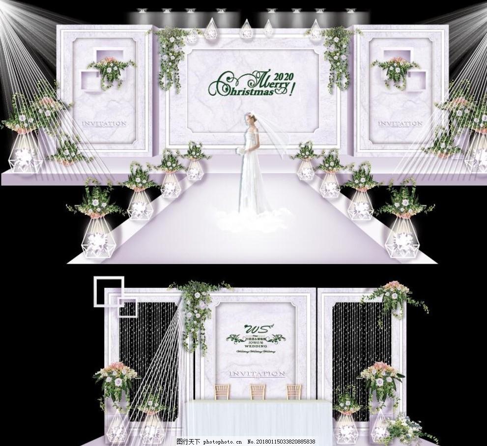 白色 大理石 主题 婚礼 定制 简约 婚礼方案 设计 其他 图片素材 ai