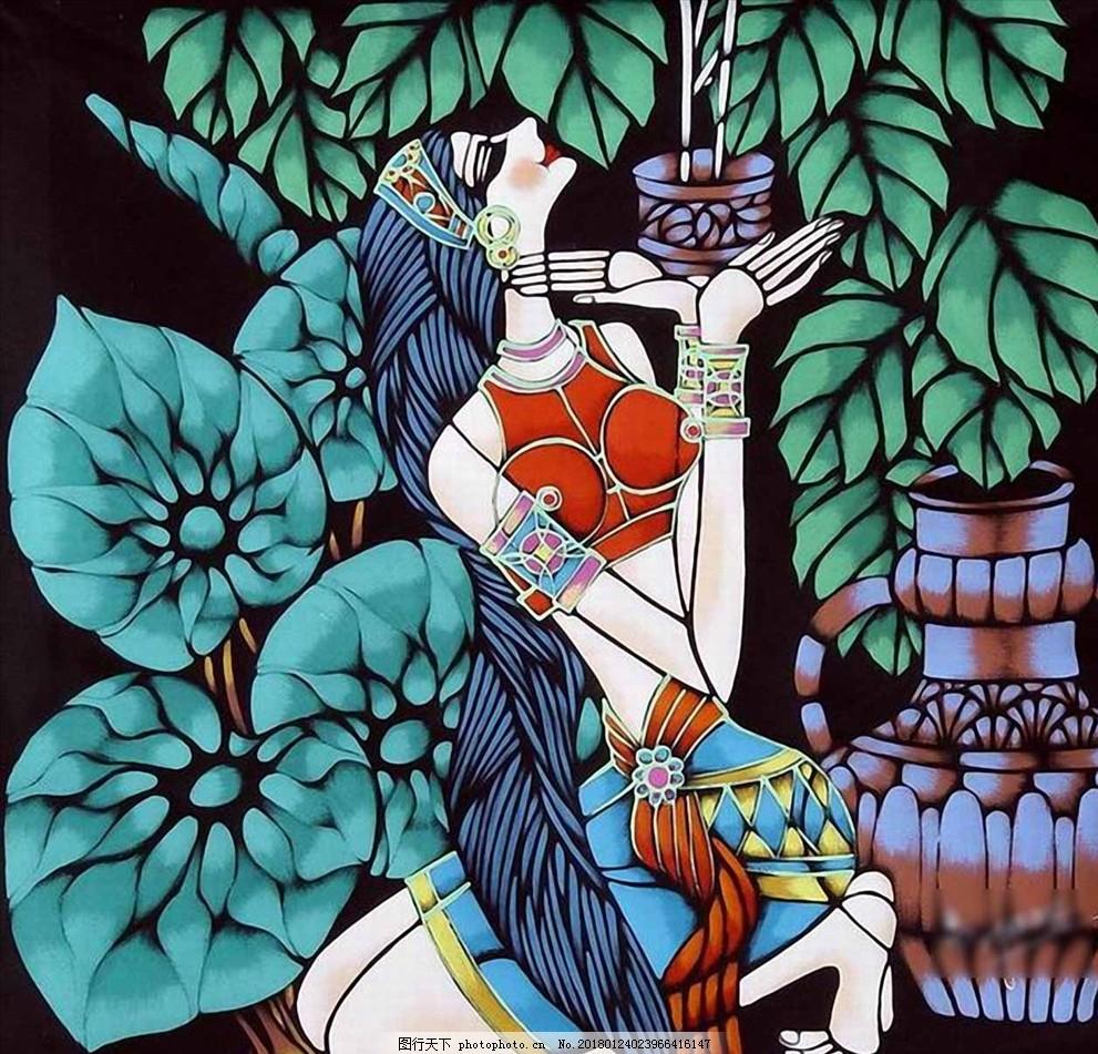 油画美女 油画 画 抽象画 水彩画 七彩画 设计 人物图库 其他 cdr