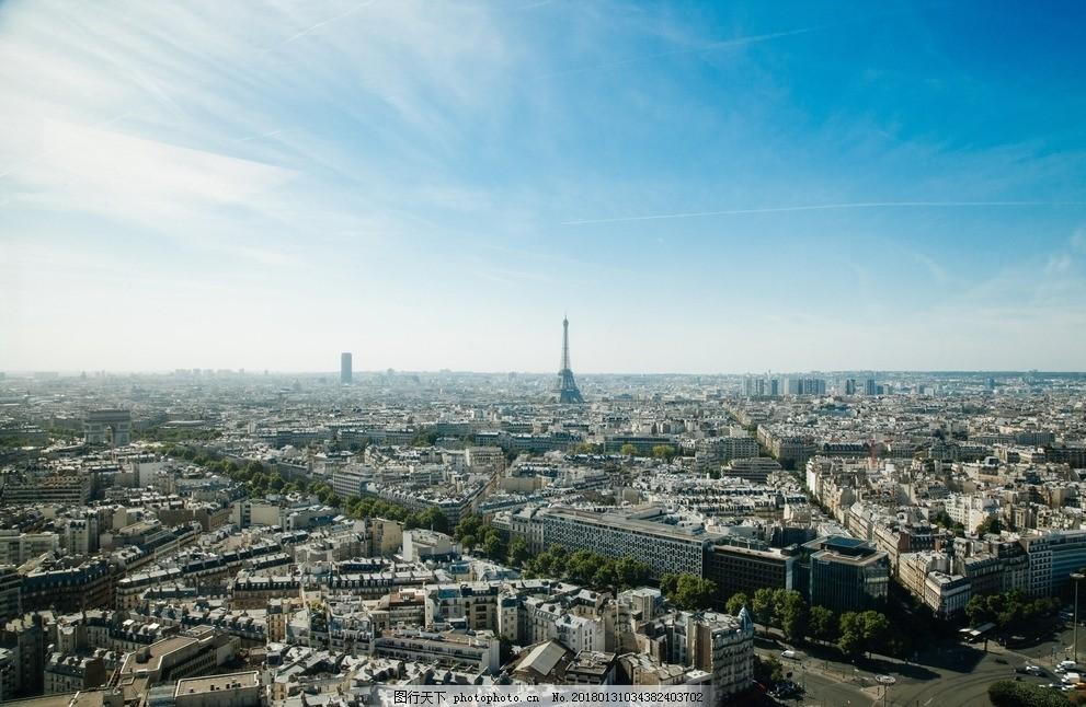 城市风景 建筑 现代简约 雾蒙蒙 欧式 北欧 欧美 美式 法式