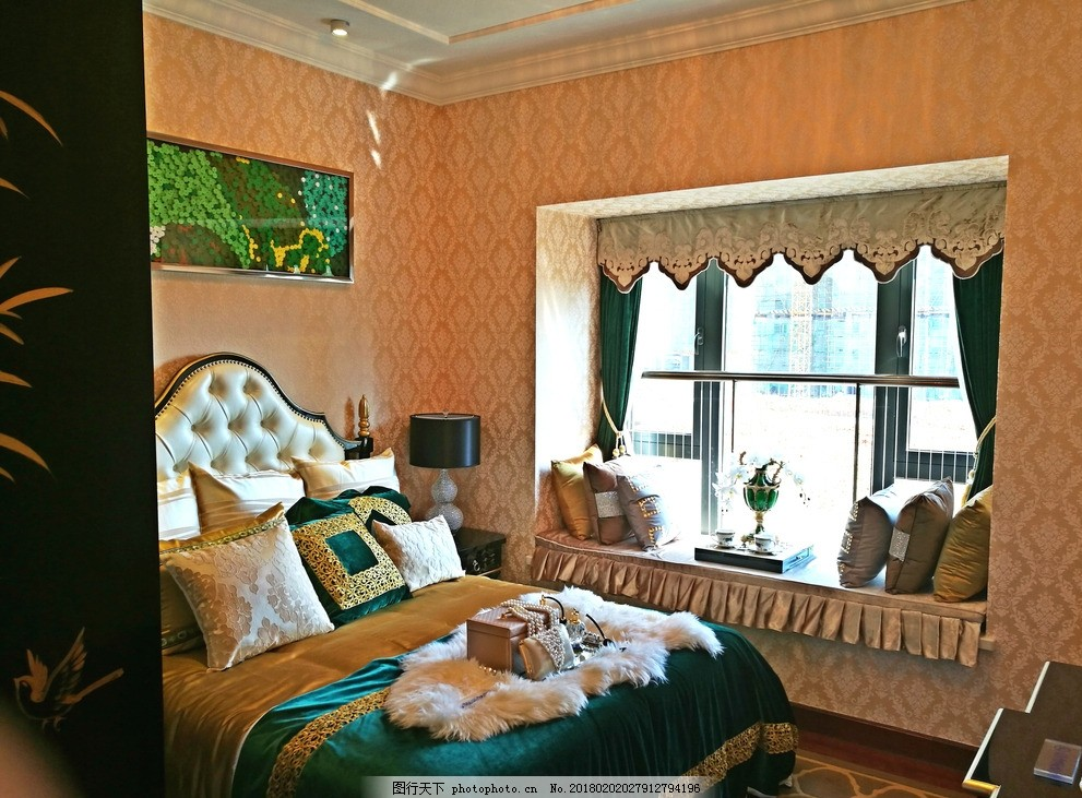 室内样板间 客厅 卧室 主卧 室内样板房 豪华装修 高档装修 幼儿园